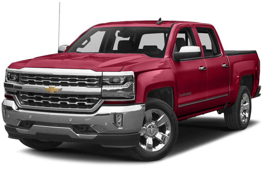 2017-Chevy-Silverado Red
