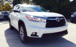 #1 <b>Toyota Highlander</b>